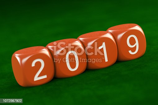 istock 2019 Text with Dices 1072567922