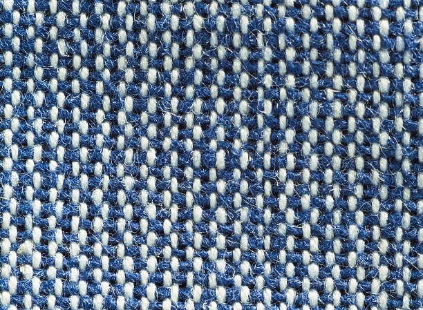 Textile background - Fabric of two colors - foto stock