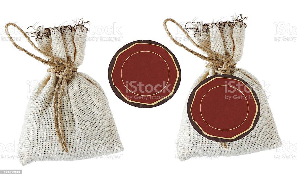 textile bag royalty-free stock photo
