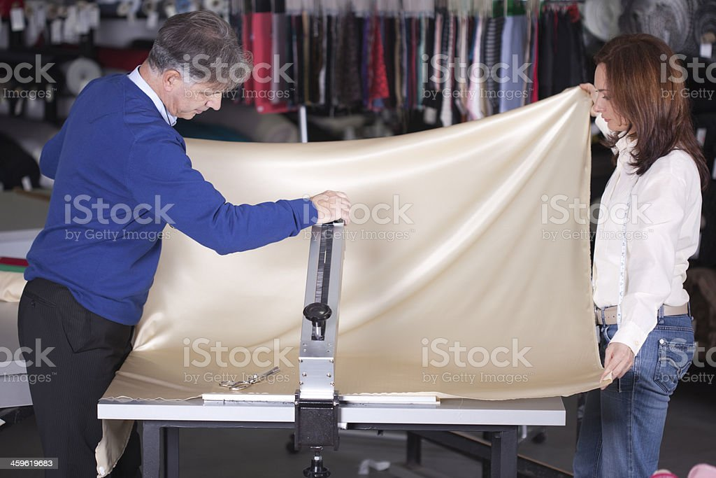 Textile Business royalty-free stock photo