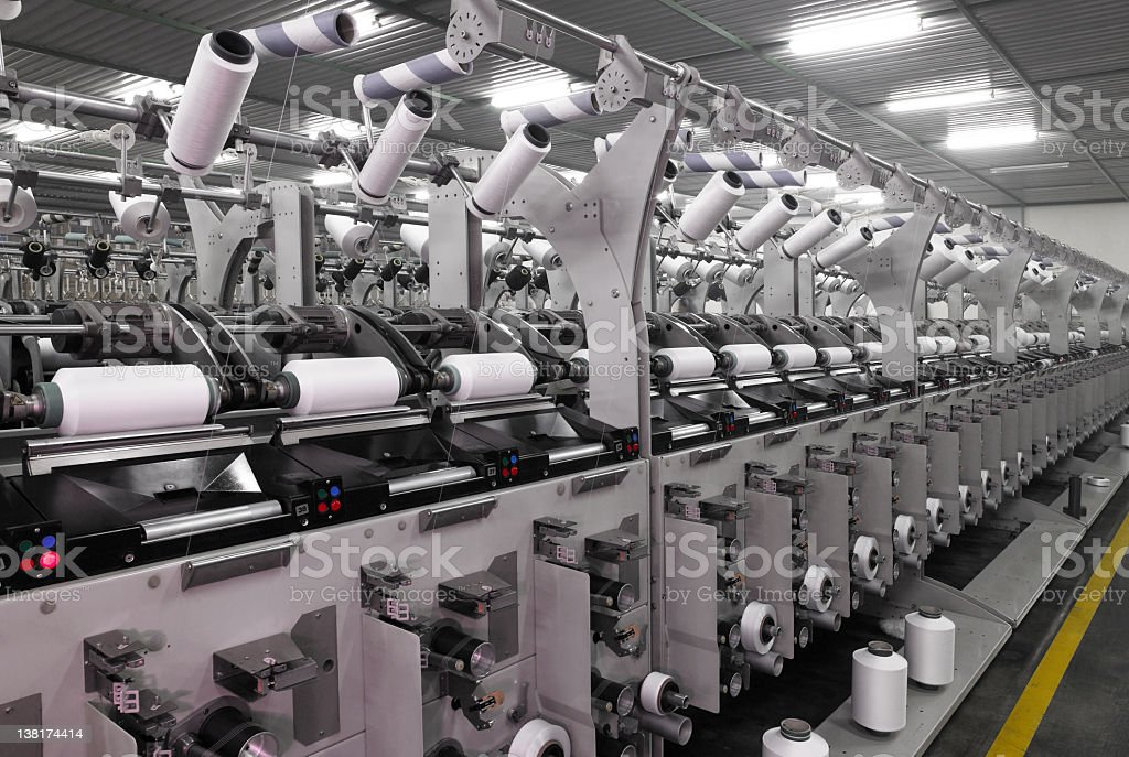 Textile Factory (Click for more) royalty-free stock photo