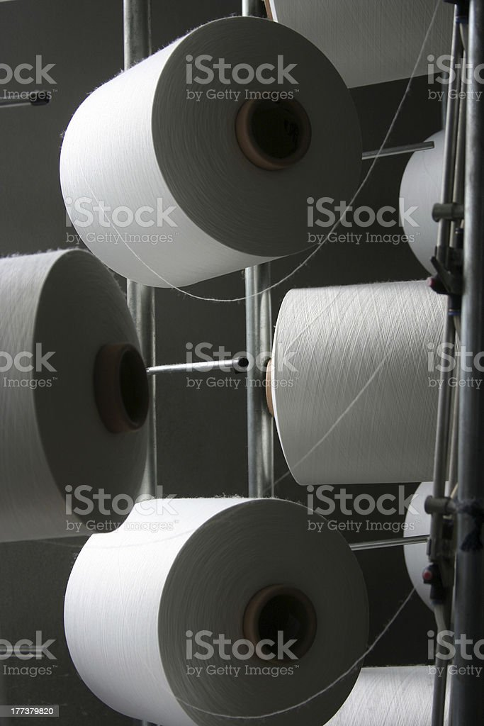 Textile Factory royalty-free stock photo