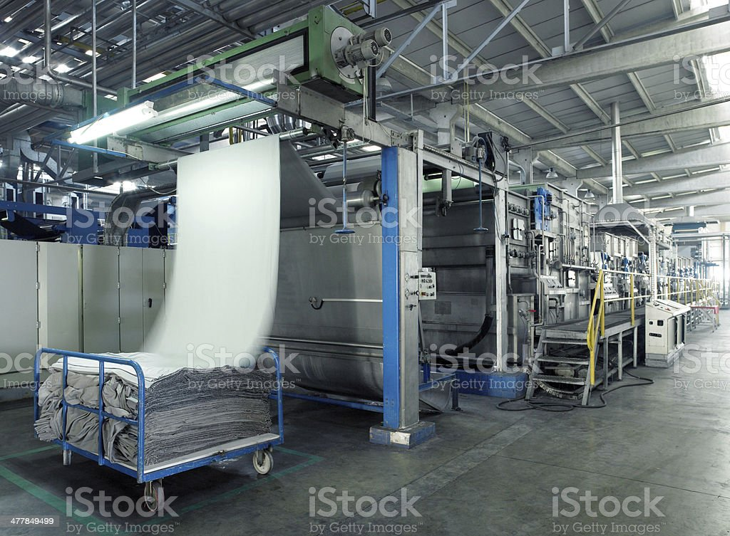 Textile Factory (Click for more) stock photo