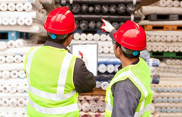 Textile Fabrik Arbeiter – Foto
