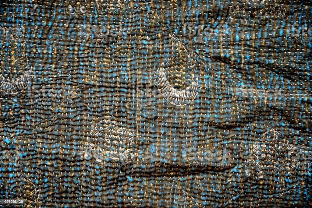 Textile from India photo libre de droits
