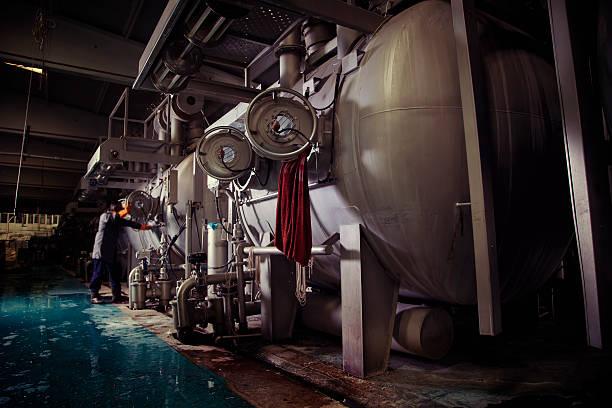Textile Industry stock photo