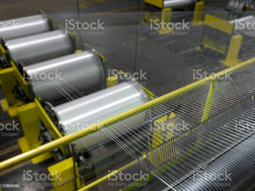 Textile Mill stock photo