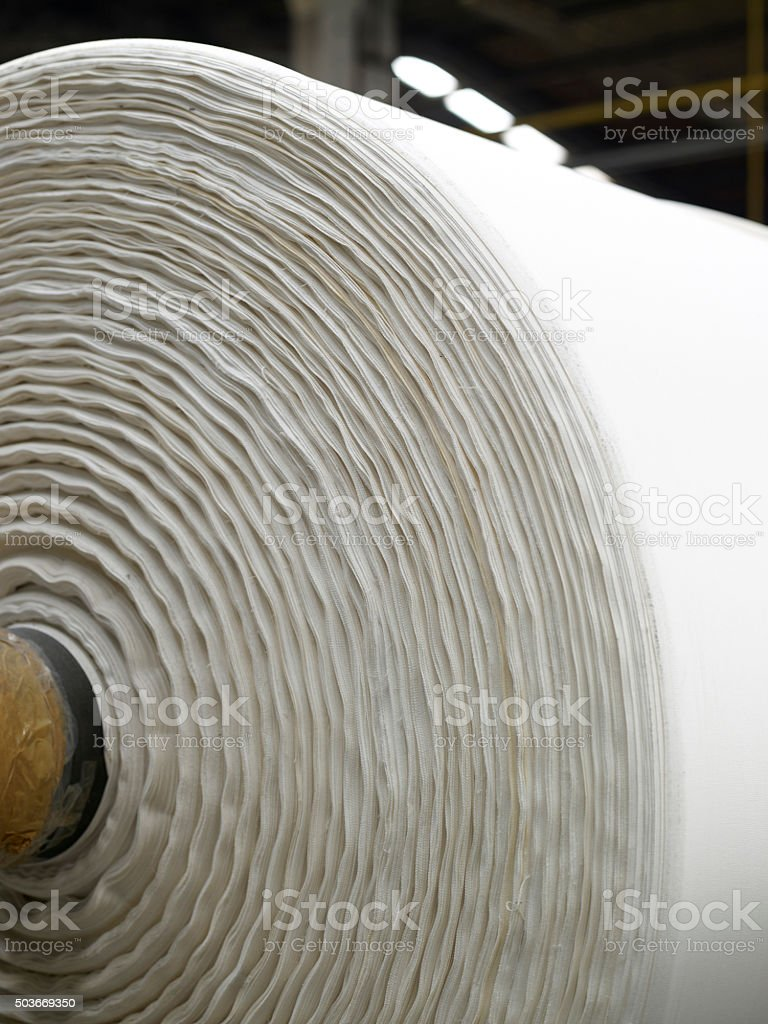 textile roll stock photo
