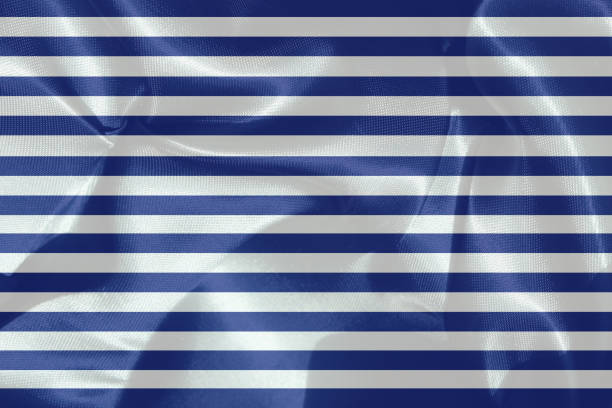 Textile sailor fabric Textile sailor fabric sailor suit stock pictures, royalty-free photos & images