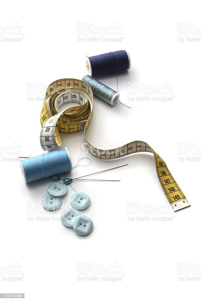 Tecido: Costura itens - foto de acervo