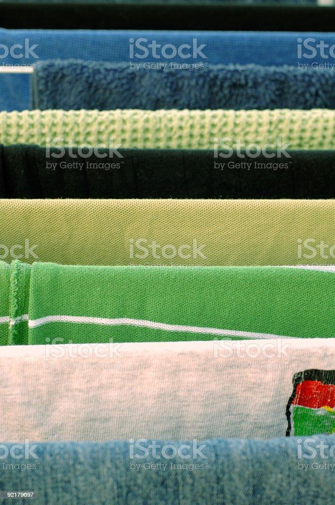 Textile Symmetry stock photo