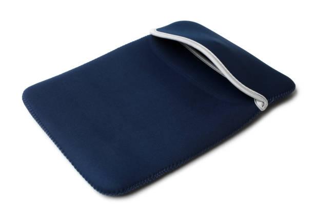 Textile tablet computer case stock photo