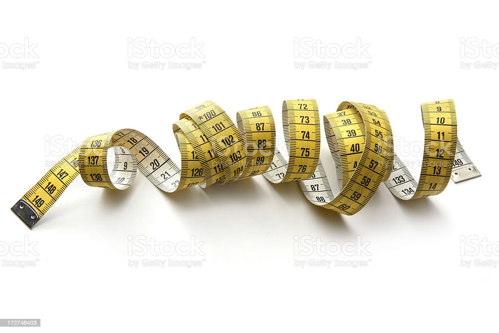 Textile: Tape Measure royalty-free stock photo