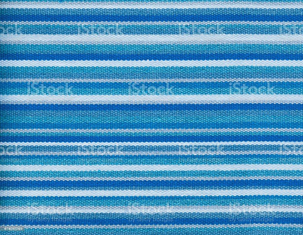Textile texture background Blue  striped wallpaper stock photo