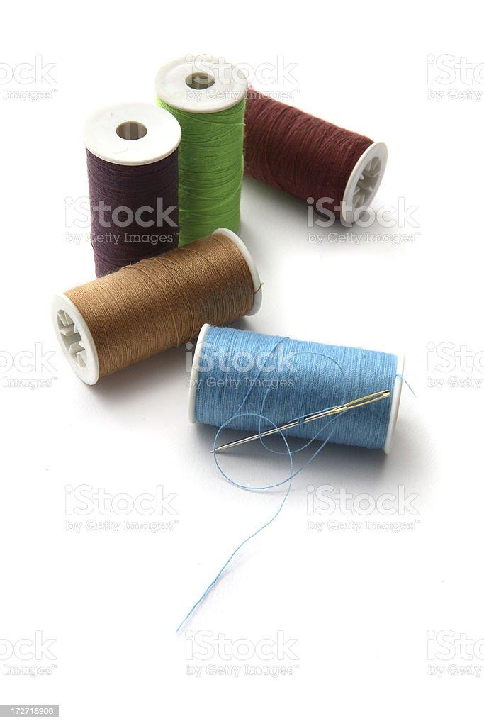 Textile: Thread royalty-free stock photo