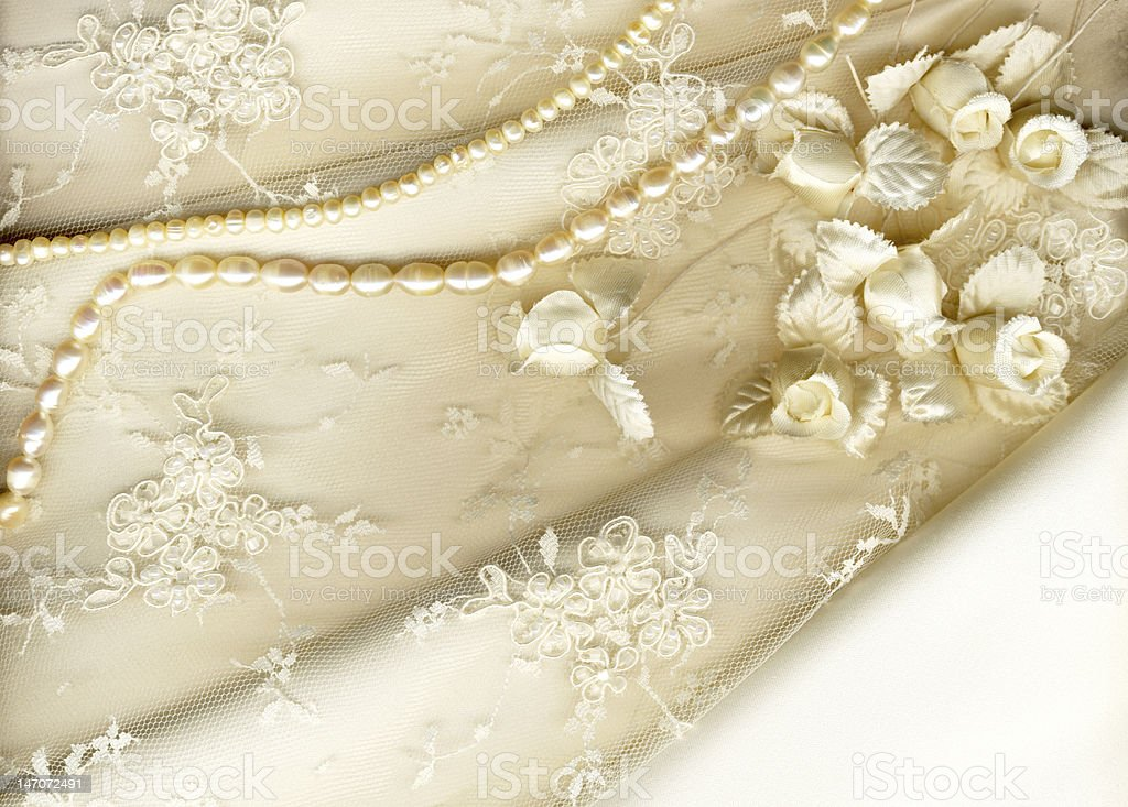 textile wedding background stock photo