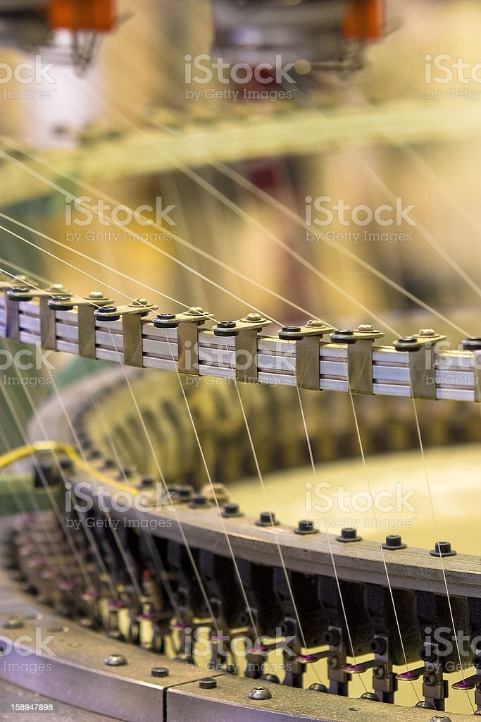 Textiles in South Africa stock photo