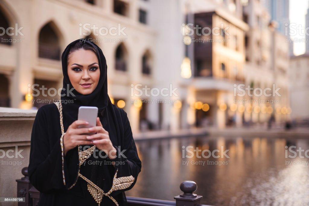 SMS im Freien – Foto