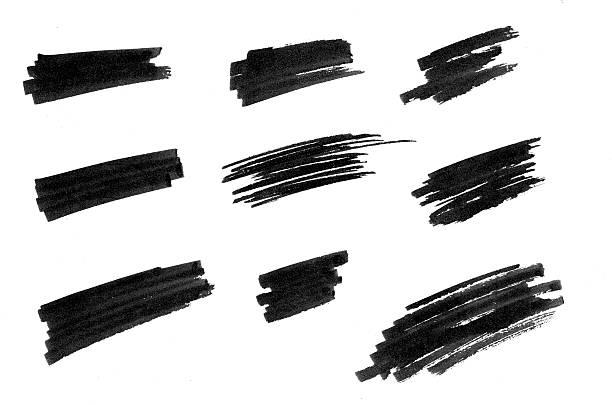 highlights linien - scribble stock-fotos und bilder
