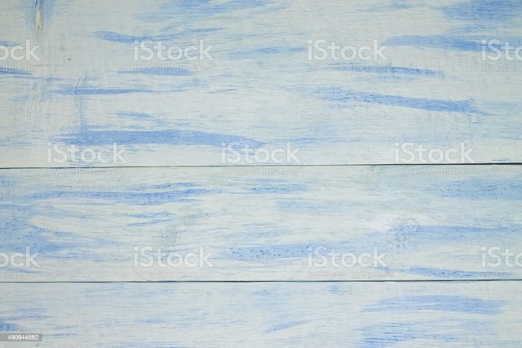 Textrure with wooden board with white blue color stock photo