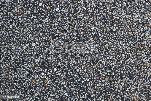 istock Textura de asfalto - Asphalt texture 471698363