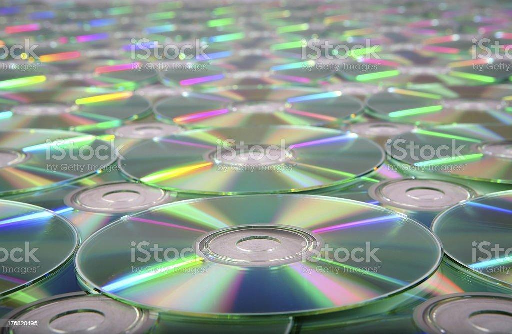 CD - DVD Texture 6 royalty-free stock photo