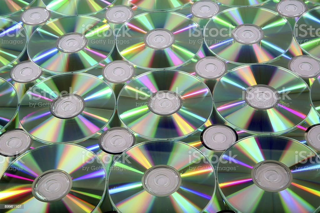 CD - DVD Texture 7 royalty-free stock photo