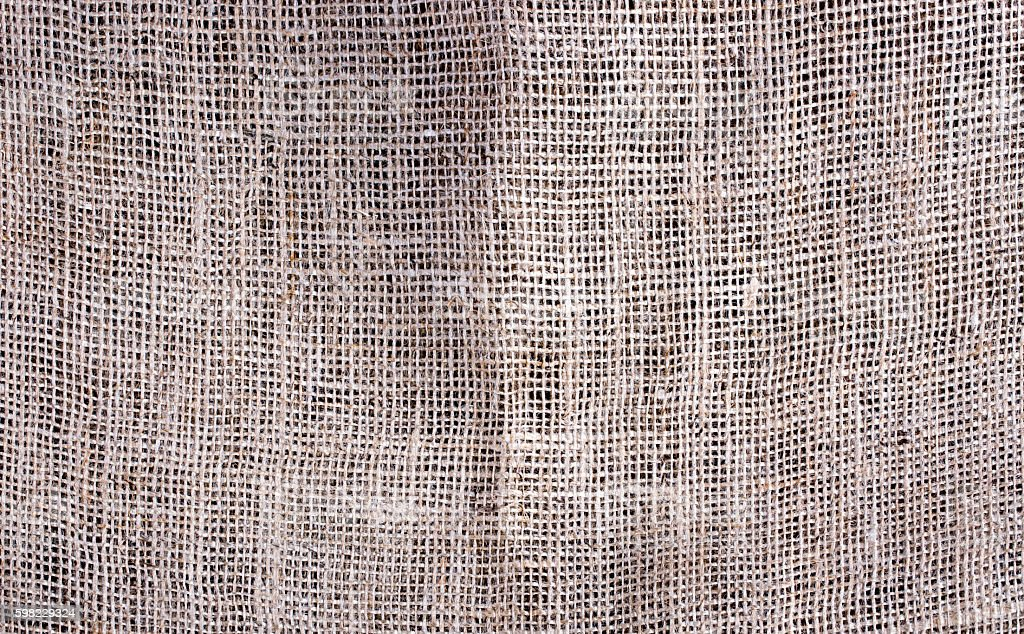 Texture and background Gunny sack close-up foto royalty-free