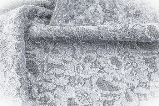 Tela Con Estampado De Flores En Textura Fondo Imagen Blanco Y Negro Blanco Y Negro Había Estilizado Gráfico Color De Rosa Blanco Y Negro Dibujo