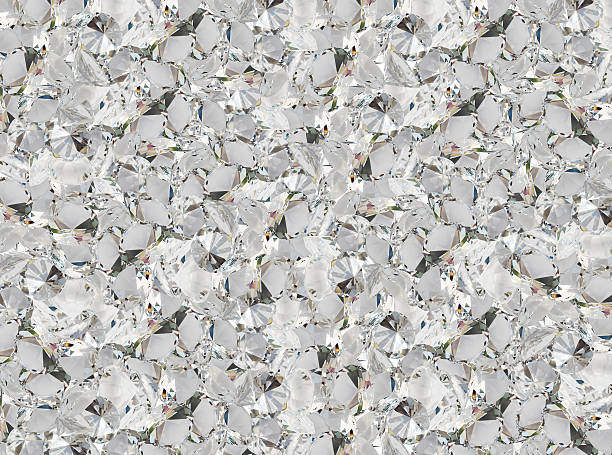 Texture background of a clear crystal diamond stock photo