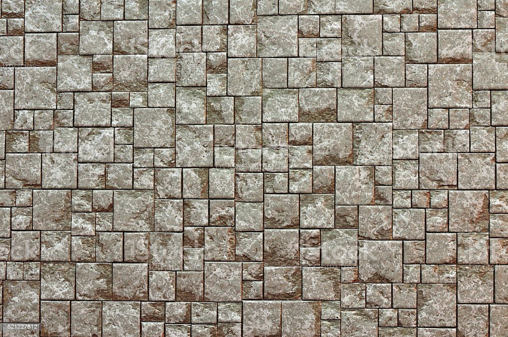 Texture Background of Brown brick wall stock photo