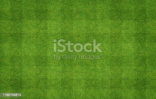 Texture background of football field