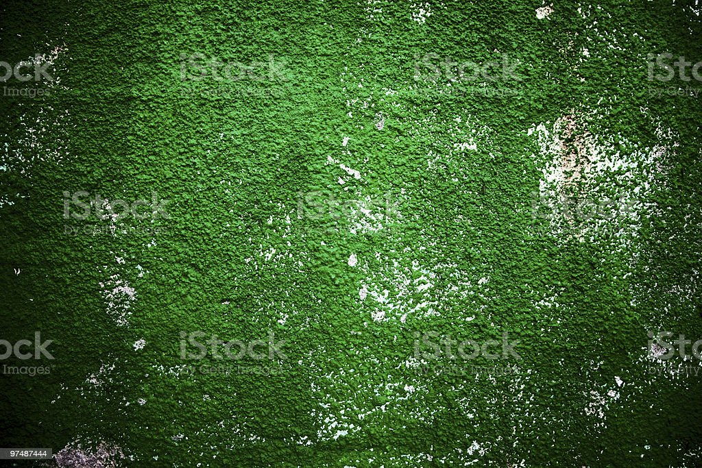 Texture background of green rough wall royalty-free stock photo
