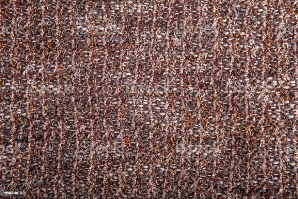Texture background of melange boucle fabric stock photo
