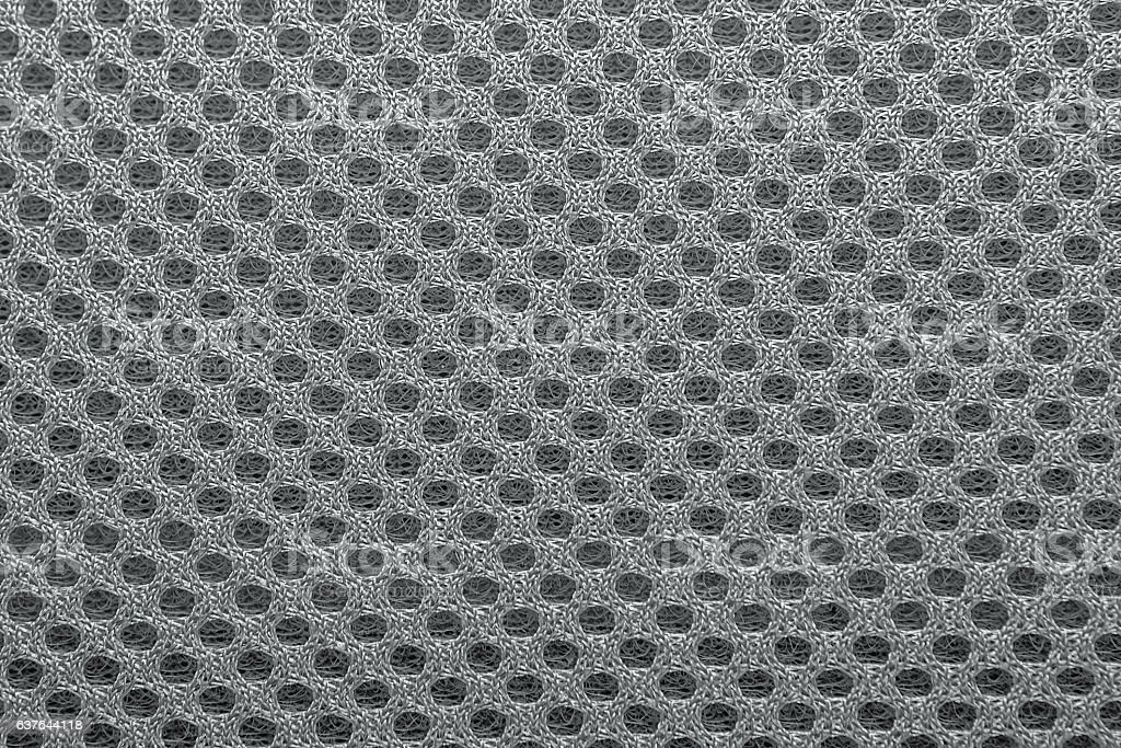 Texture background of polyester fabric. stock photo