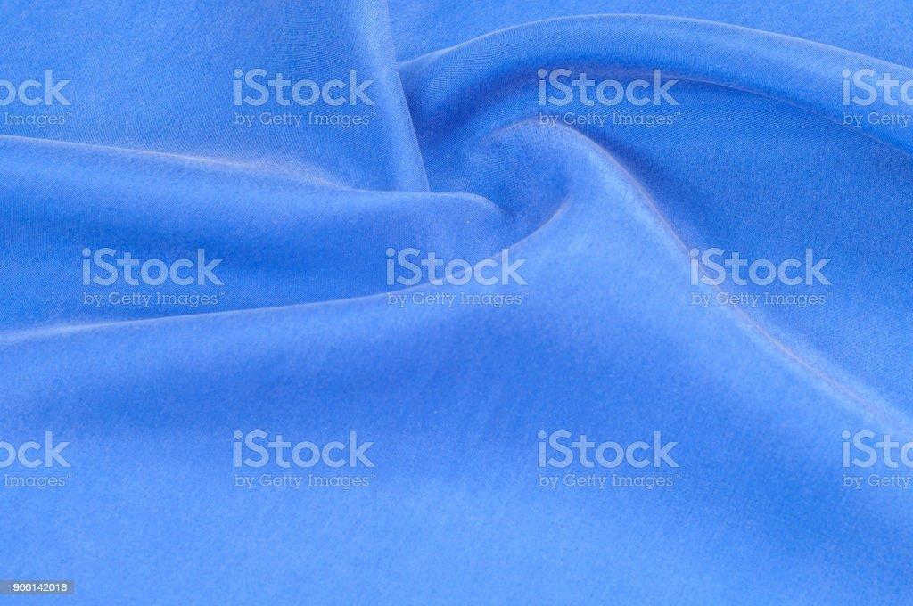 Textur bakgrundsmönster. abstrakt bakgrund lyx blå trasa eller flytande våg eller vågiga veck av grunge silk textur satin velvet material eller lyxiga bakgrund eller eleganta tapeter - Royaltyfri Abstrakt Bildbanksbilder