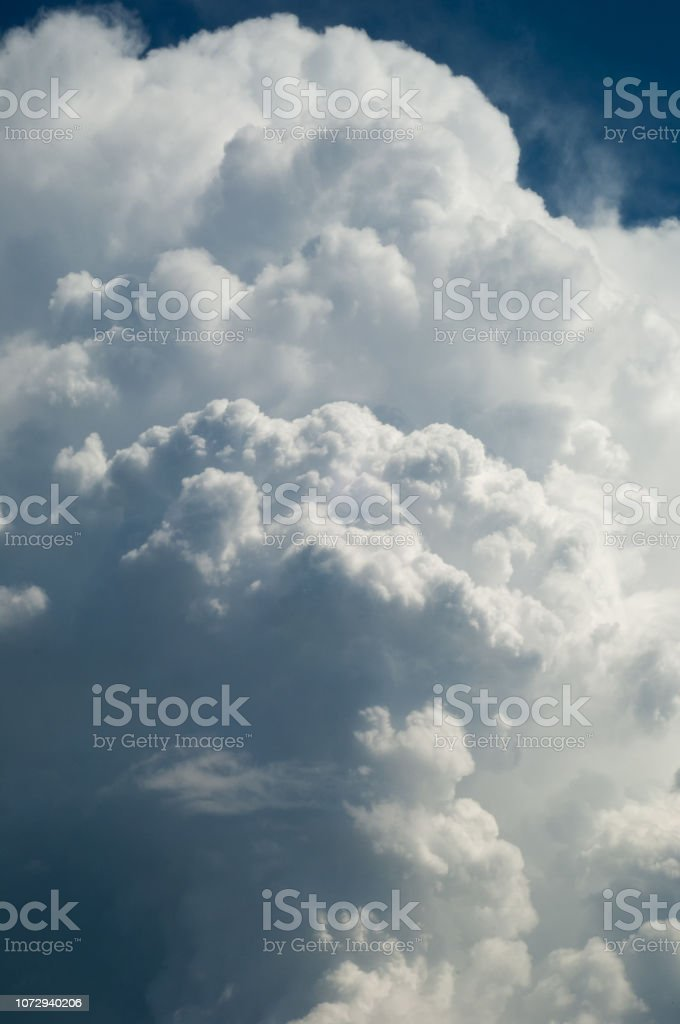 Texture, background, pattern. Cumulonimbus clouds. cumulonimbus...