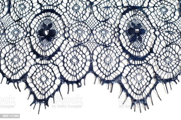 Textur Bakgrund Mönster Spets Tyg Mörkblå Färg Elegant Och Redo För En Fascinerande Debut Gjordes Denna Kväll Blå Blommig Präglade Spets Från Drömmen Om En Midnatt Trädgård-foton och fler bilder på Aruba