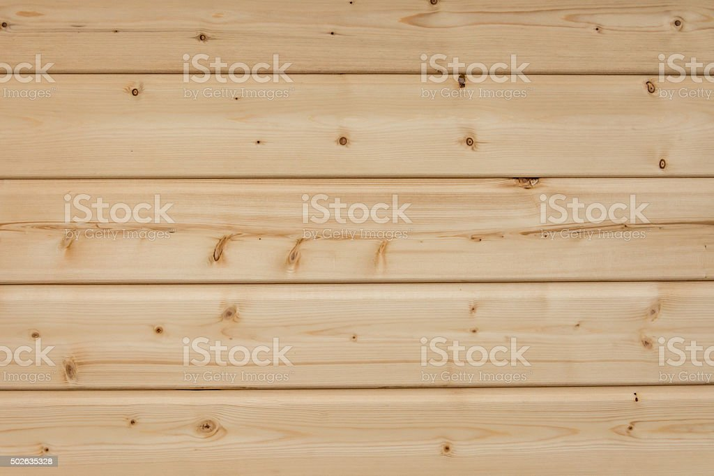 Texture, background, pattern or wallpaper of bright horizontal wood planks stock photo