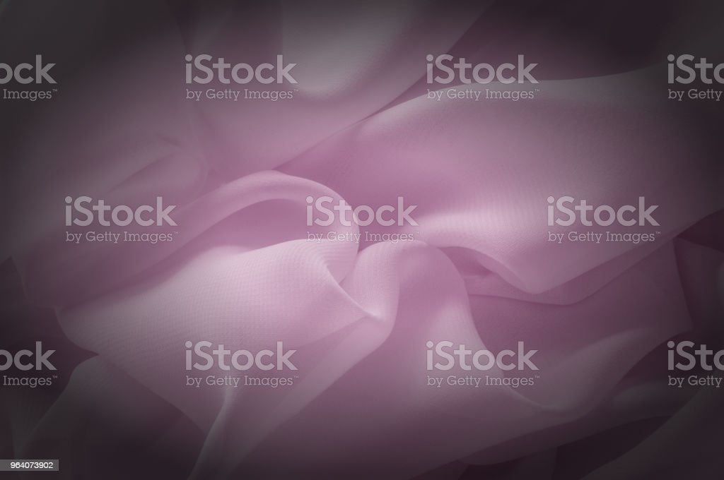 Texture, background, pattern. Silk fabric pale pink, abstract folds - Royalty-free Abstract Stock Photo