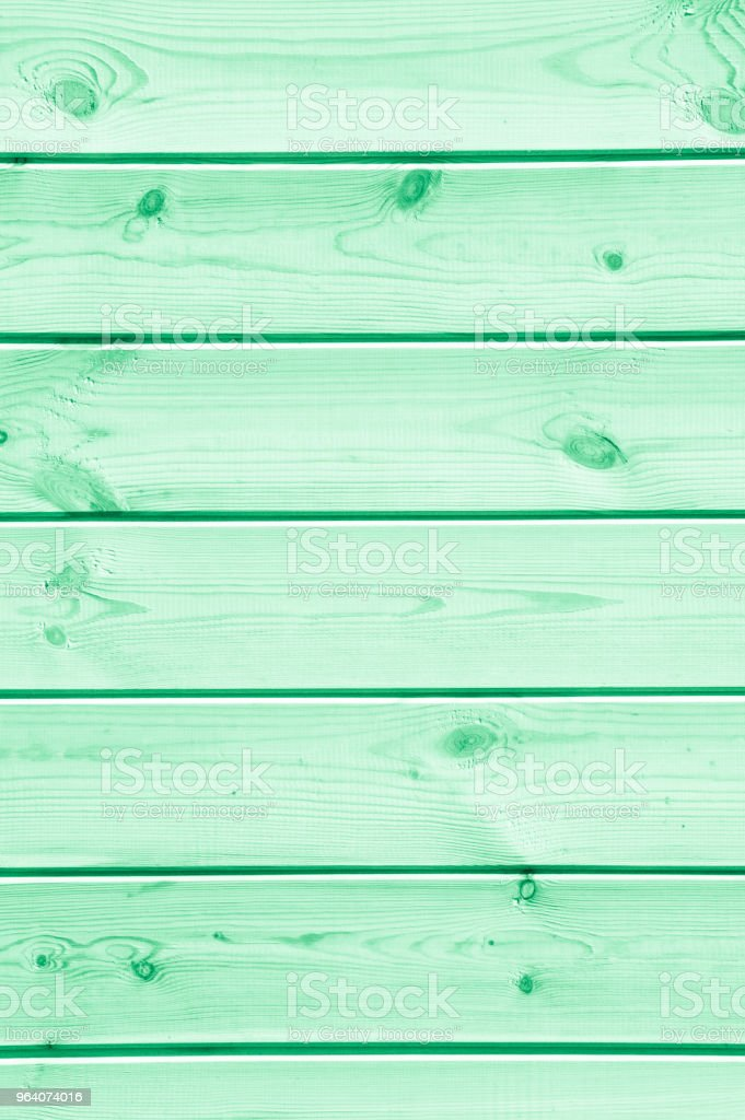 Texture, background, pattern. The green-colored boards are seen from above as a background with space for copying and assembling. - Royalty-free Abstract Stock Photo