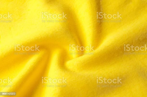 Текстура Фонового Шаблона Шерстяная Желтая Ткань Ткань Для Одеяла Верхняя Одежда Горизонтальный Фрагмент Крупным Планом — стоковые фотографии и другие картинки Вязание крючком