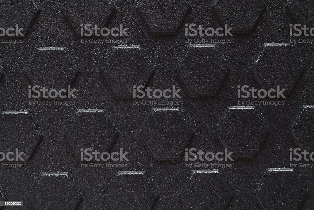 texture – black rubber royalty-free stock photo