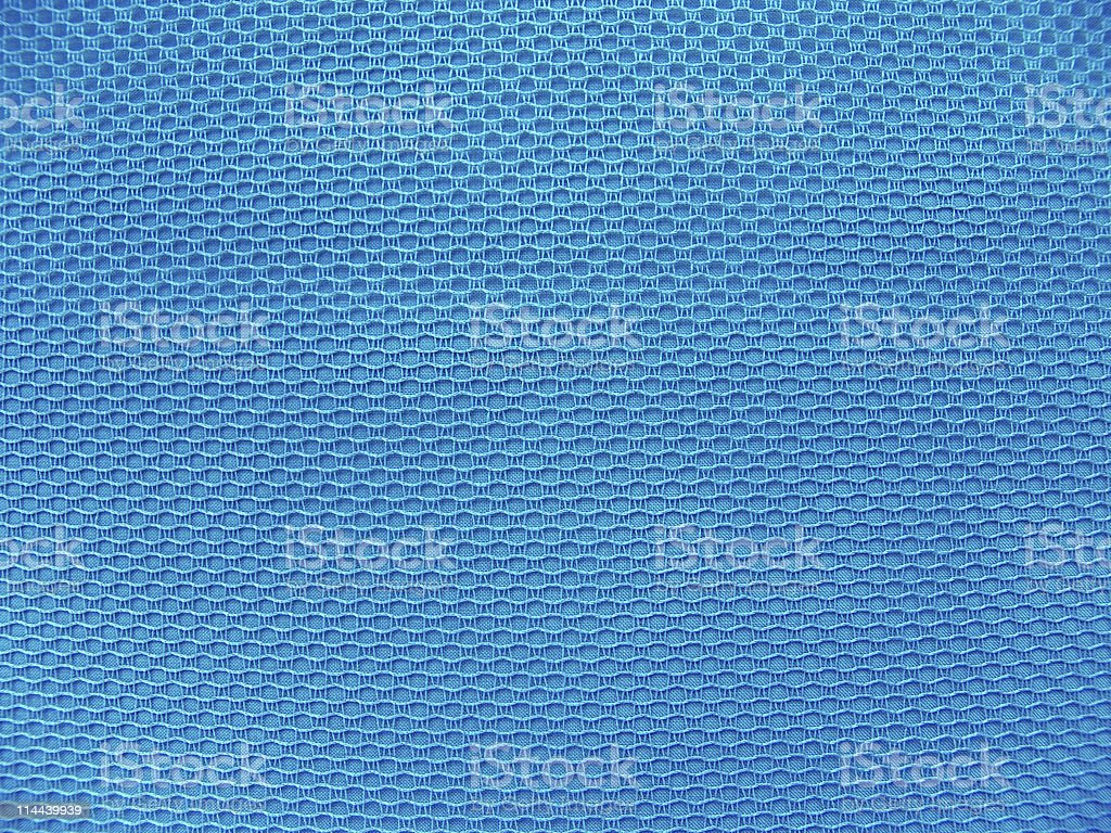 texture- blue fabric royalty-free stock photo