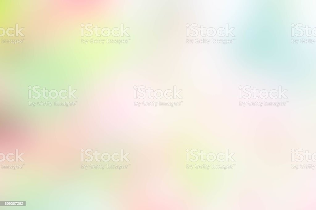 Texture blur green pink yellow and white mix color pastel nature...
