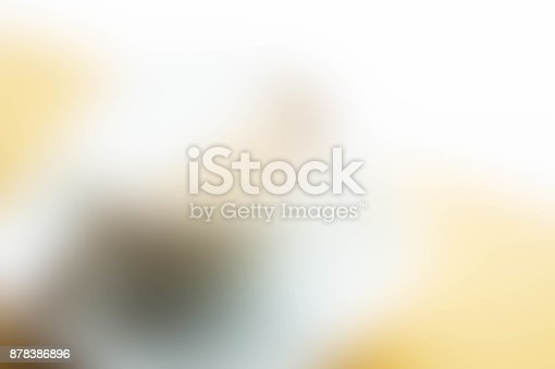 istock Texture blur white and brown mix color background 878386896