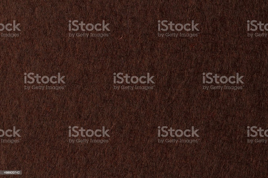 Текстура коричневой фетра стоковое фото