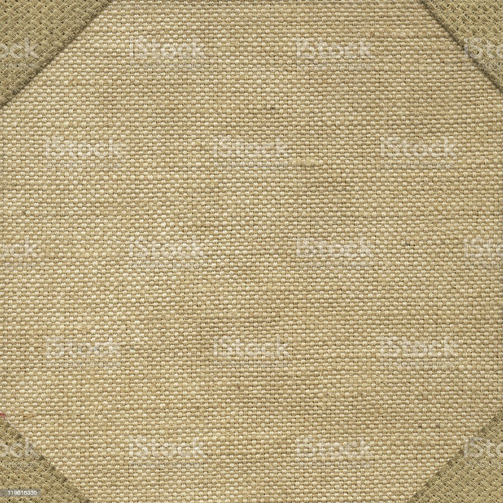 Texture canvas fabric royalty-free stock photo