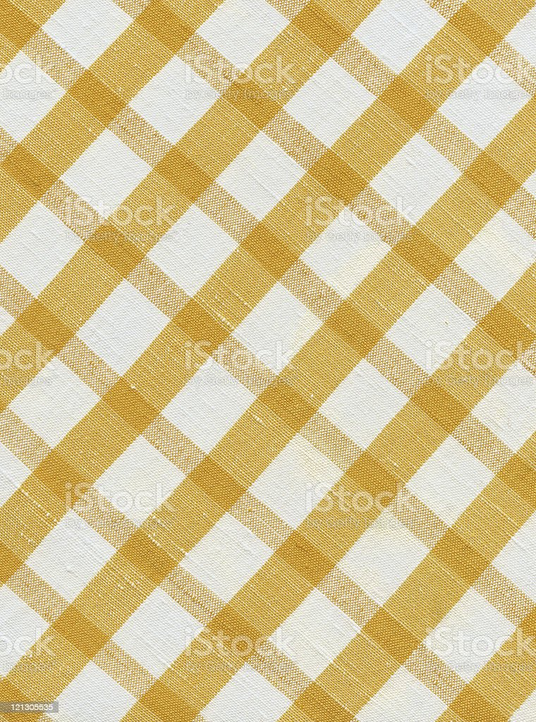 texture- checkered fabric royalty-free stock photo
