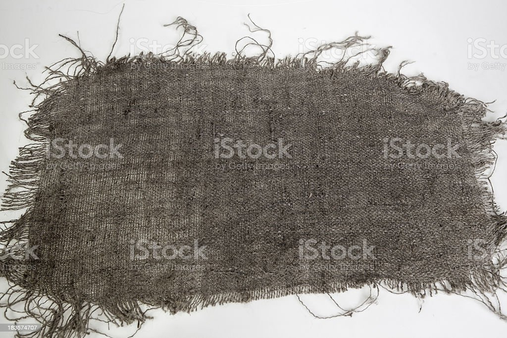 Texture - coarse canvas, natural resource royalty-free stock photo